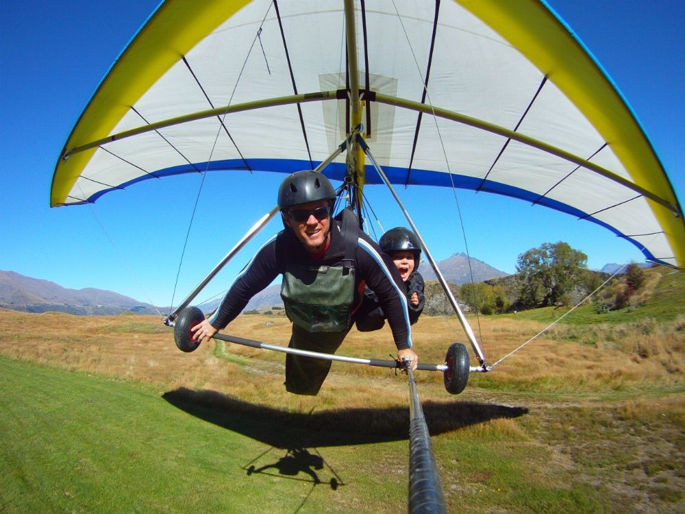 Coronet Peak Tandem Paragliding and Hang gliding in Queenstown | My