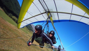 Coronet Peak Tandem Paragliding and Hang gliding