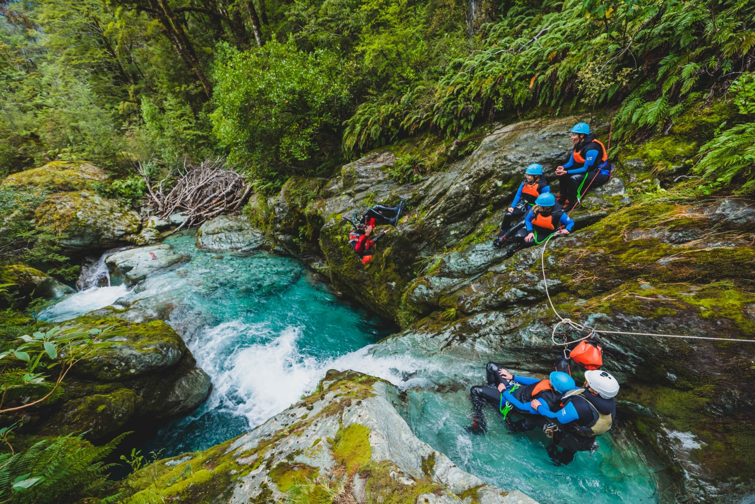 Full Day Canyoning Tour in The Routeburn Valley