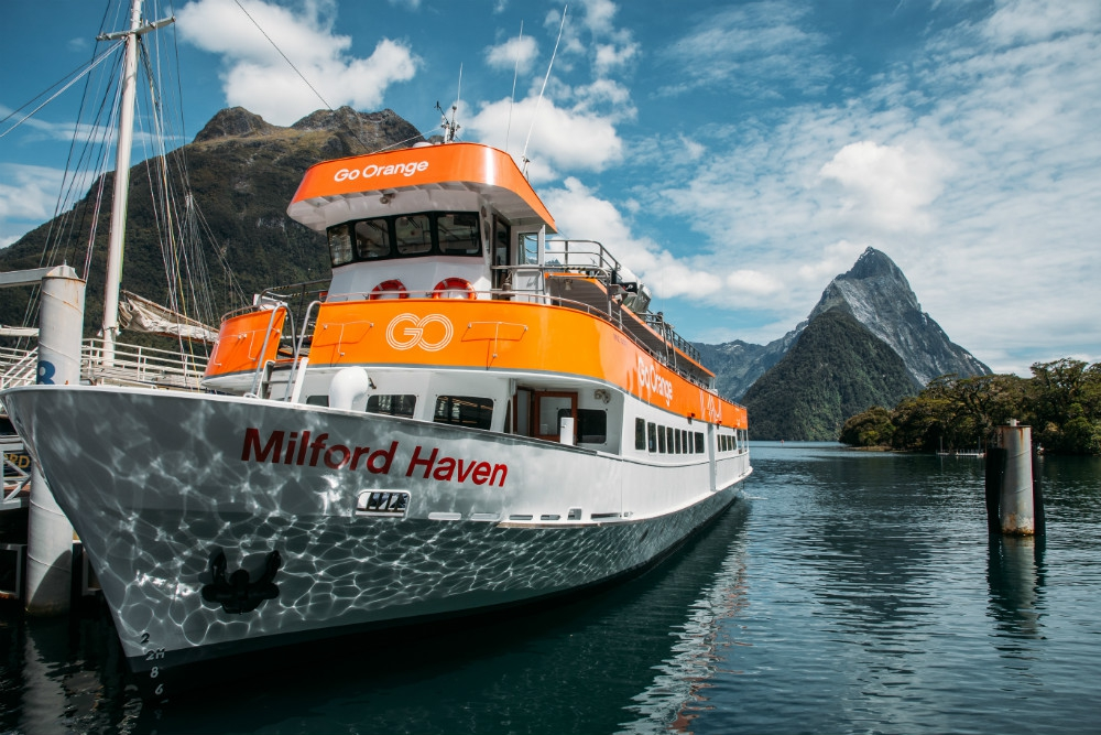 Go Orange Milford Sound Cruise
