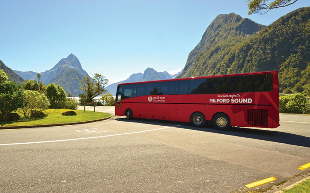 Milford Sound Coach and Cruise Tour