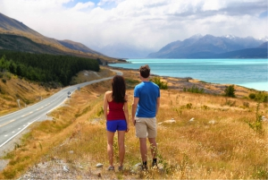 Mount Cook Day-Tour: Christchurch to Queenstown