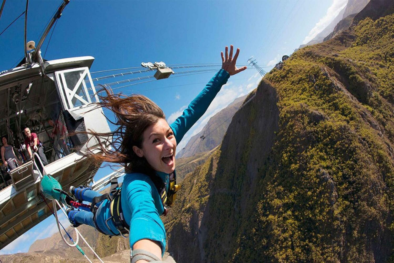 Nevis Highwire Platform Bungy Jump