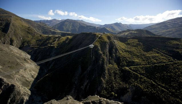 The Nevis Bungy and The Nevis Swing