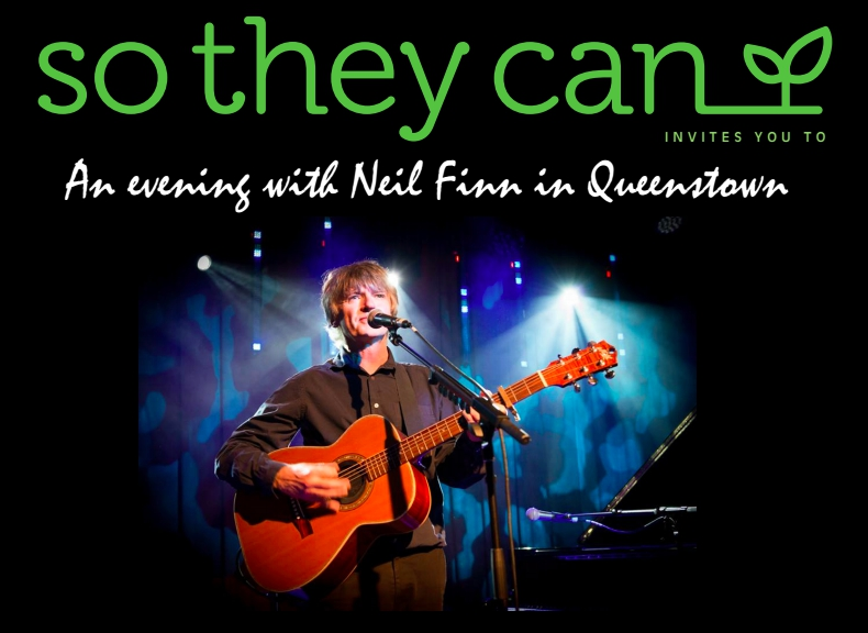 An Evening with Neil Finn in Queenstown