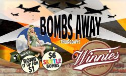 BOMBS AWAY THURSDAYS