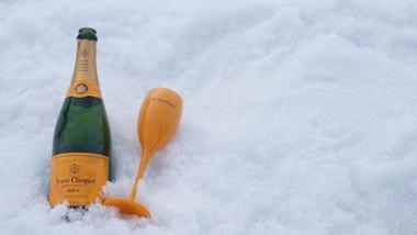 Clicquot in the Snow