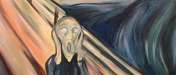 Paint & Wine Night - The Scream