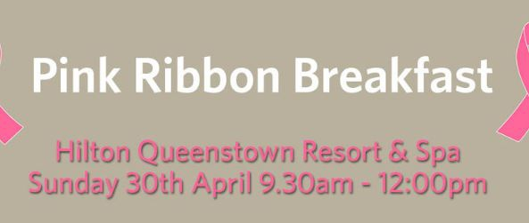 Pink Ribbon Breakfast Hilton Queenstown