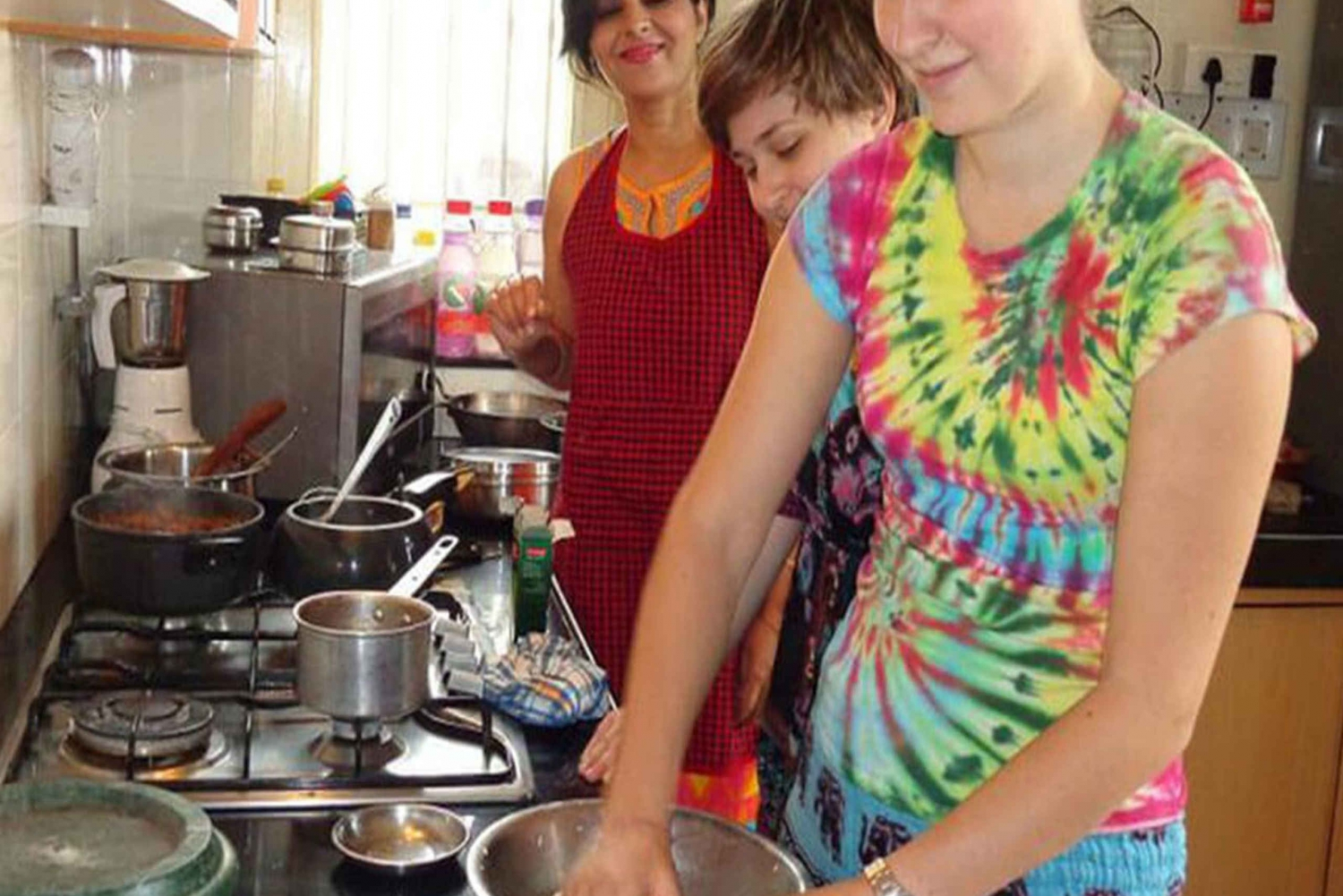 Evening Cooking Session and Dinner with an Indian Family