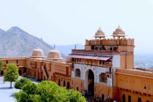 From Delhi: Jaipur Private Day-Trip by Car or Train
