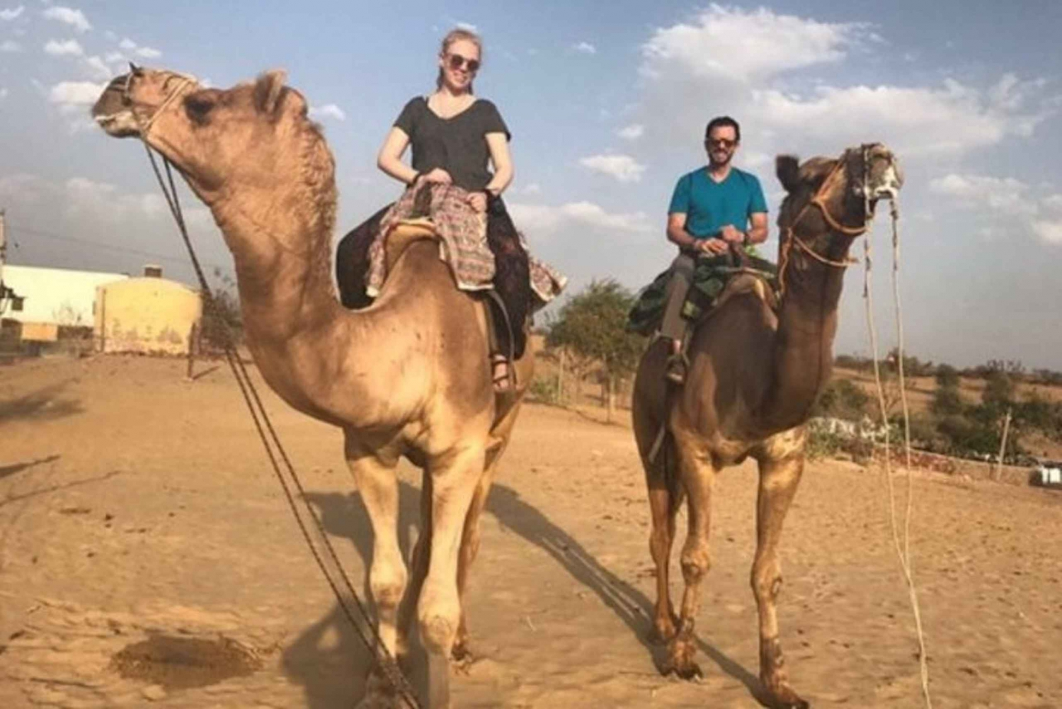 From Jodhpur: Overnight Stay in Desert with Camel Safari