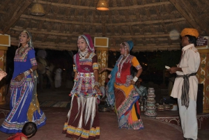Jaipur: Chokhi Dhani Local Village Experience