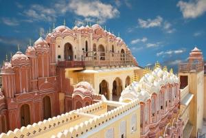Jaipur: City Palace, Hawa Mahal & Jantar Mantar Private Tour