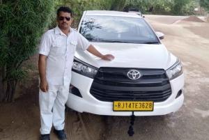 Jaipur: Transfer to Delhi with Sariska Wildlife Tour