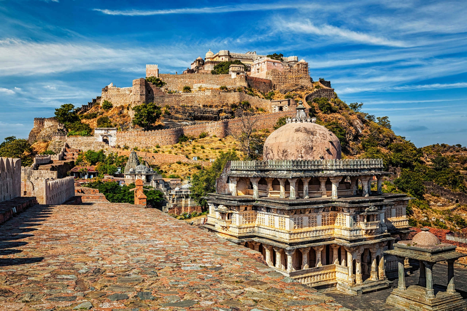 Kumbhalgarh and Ranakpur: Private Day Trip from Udaipur