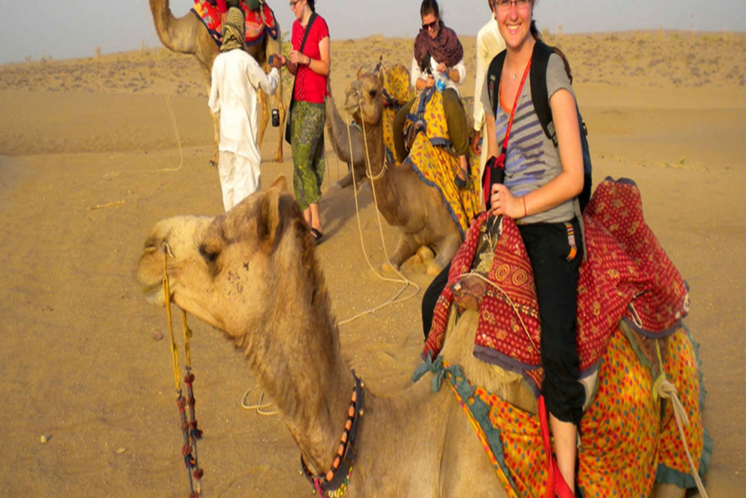 Osian Tour: Camel Riding and Gala Dinner