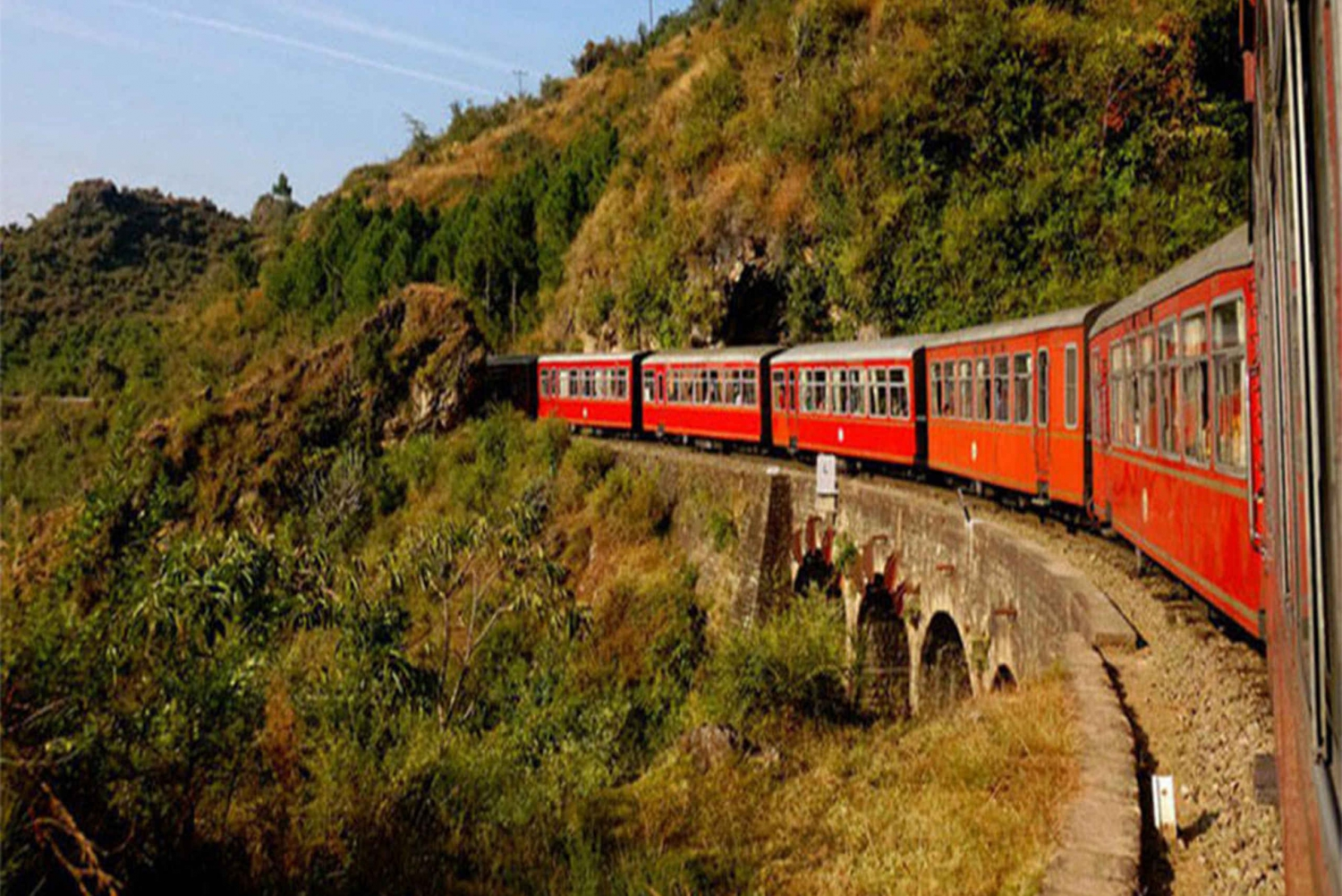 Rural Rail Journey, Village Tour & Stay at Heritage Haveli
