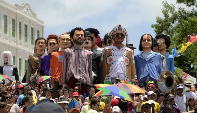 Embaixada de Pernambuco - Giant Dolls of Olinda