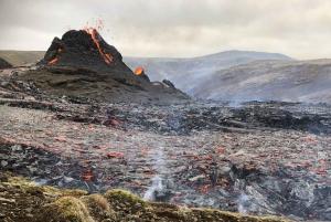 Active Volcano Hike & Reykjanes Tour