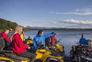 ATV Reykjavik Peaks Half-Day Tour