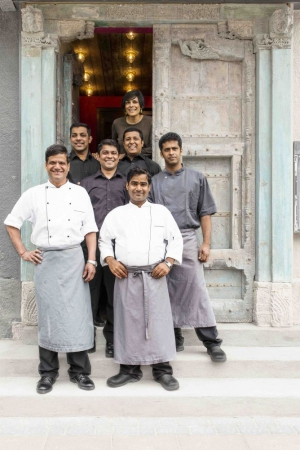 The Chefs of the East Indian Company Restaurant in Reykjavik, Iceland