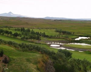 Overlooking the Course