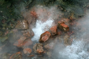 Steaming Water