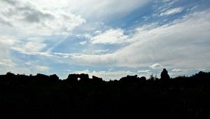 Dimmuborgir skyline