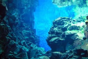 Diving in Silfra Fissure in Thingvellir National Park