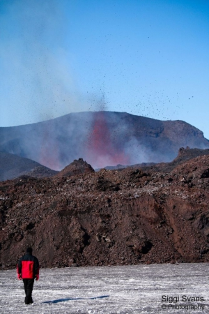 Volcanic Activity - Photo Courtesy of Siggi Svans