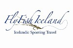 Fly fisher Group Iceland