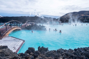 From Golden Circle, Kerid Crater, and Blue Lagoon