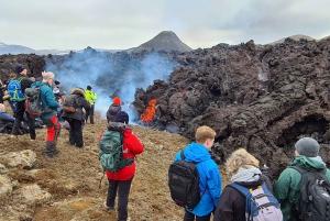 From Reykjanes Volcanic Hike & Blue Lagoon Option