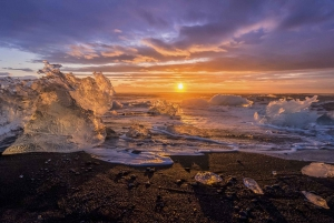 From Reykjavik 2-Day South Coast Tour with Blue Ice Cave