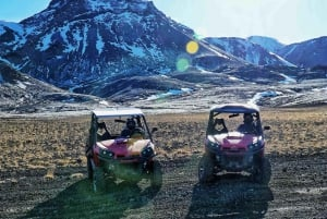 From Reykjavik: Buggy and Caving Tour