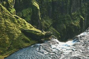 From Reykjavík: Glymur Waterfall Hike and Krauma Baths