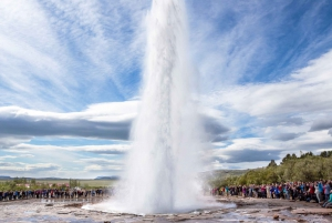 From Reykjavik: Golden Circle and Glacier Ice Cave Tour