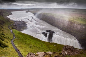 From Reykjavik: Golden Circle and Lava Caving Adventure