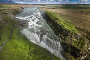 From Reykjavik: Golden Circle and Whale Watching Tour