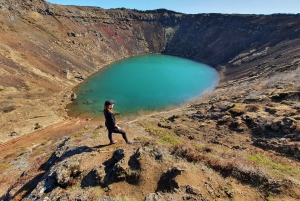 From Reykjavik: Golden Circle, Kerid Crater, and Blue Lagoon