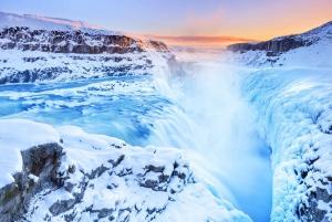 From Reykjavik: Golden Circle Tour & Blue Lagoon Transfer