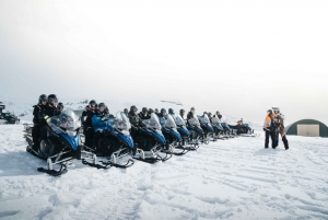 From Reykjavik: Hot Spring, Ice Cave & Snowmobile Tour