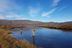 From Reykjavik: Lake and River Fishing Tour