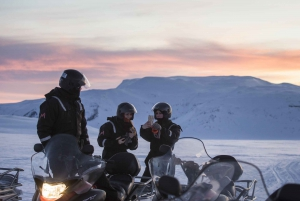 From Reykjavik: Langjökull Glacier Snowmobiling Tour