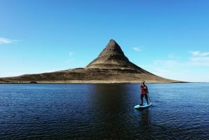 From Reykjavik: Snæfellsnes Peninsula SUP Small Group Tour