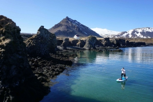 From Snæfellsnes Peninsula SUP Small Group Tour