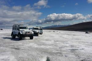 Golden Circle & Langjökull Glacier on a Jeep