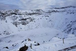 Golden Circle Waterfall Tour: Volcano Crater & Blue Lagoon