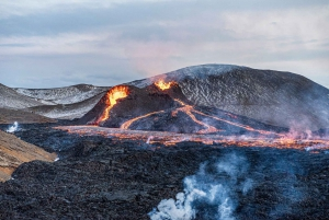 Guided Active Volcano Hike in Reykjanes Peninsula